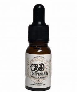 CBD 2.5% 250mg 10ml CBD oil drops pet friendly
