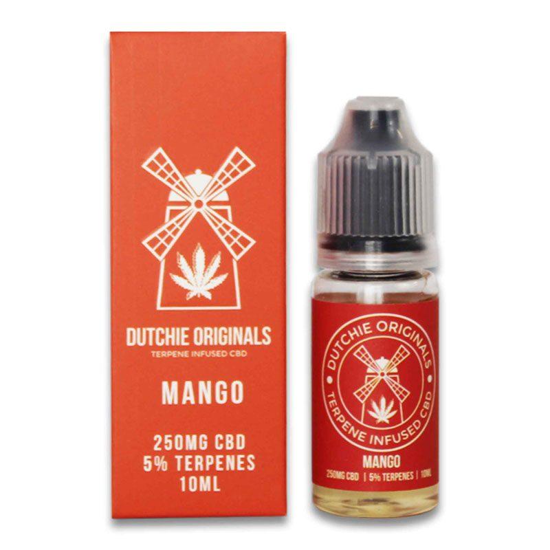 cbd e-liquid mango haze 250mg terpenes