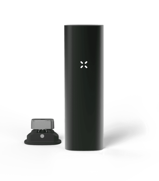 Black coloured PAX 3 dry herb vape kit weed pen