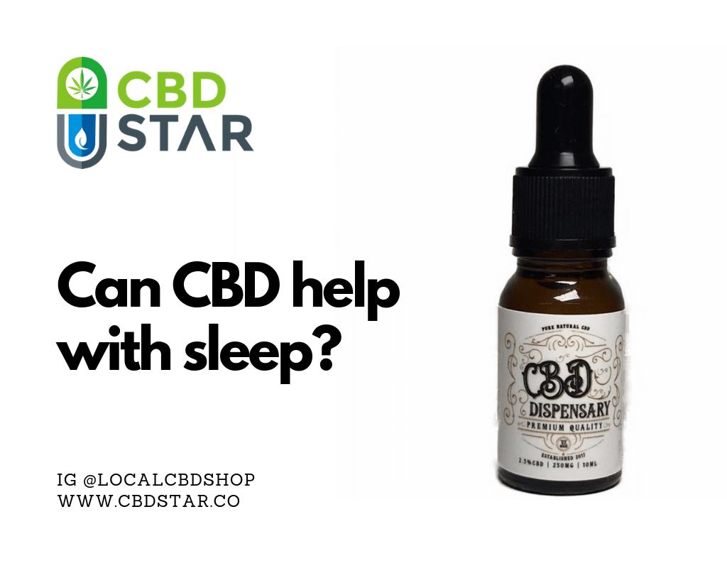 can cbd help with sleep