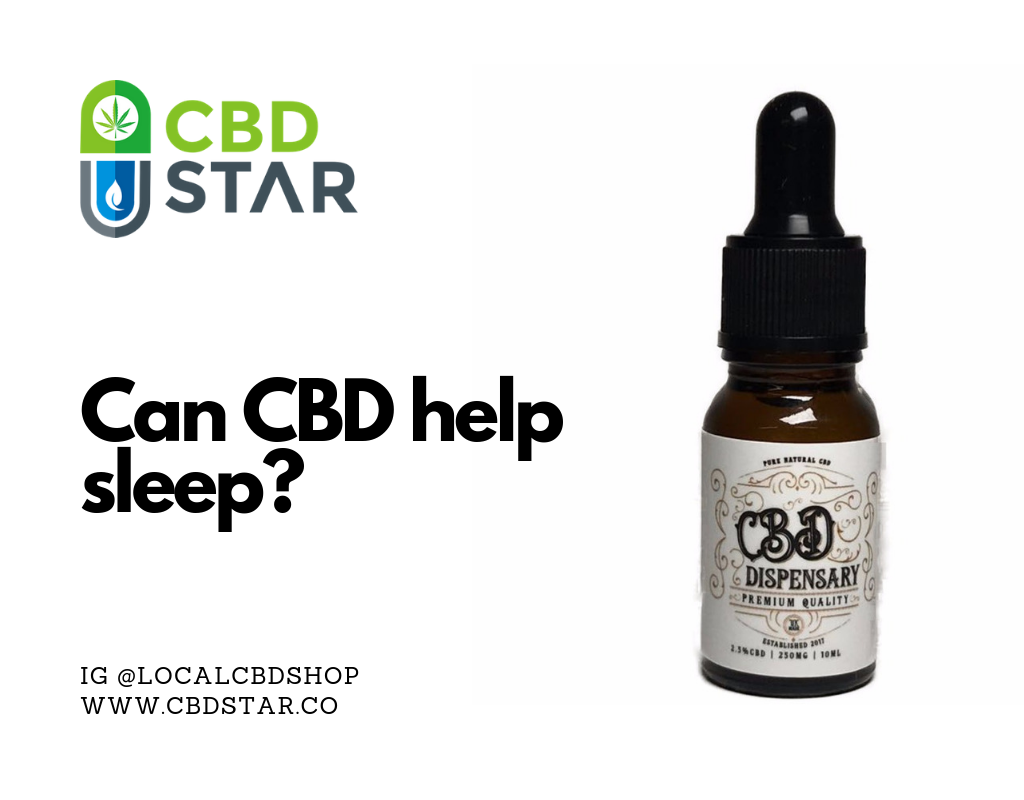 Can CBd help you sleep