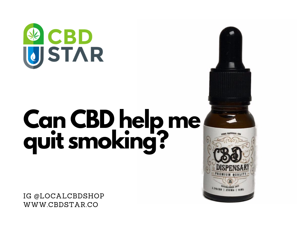 Can CBD help quit smoking