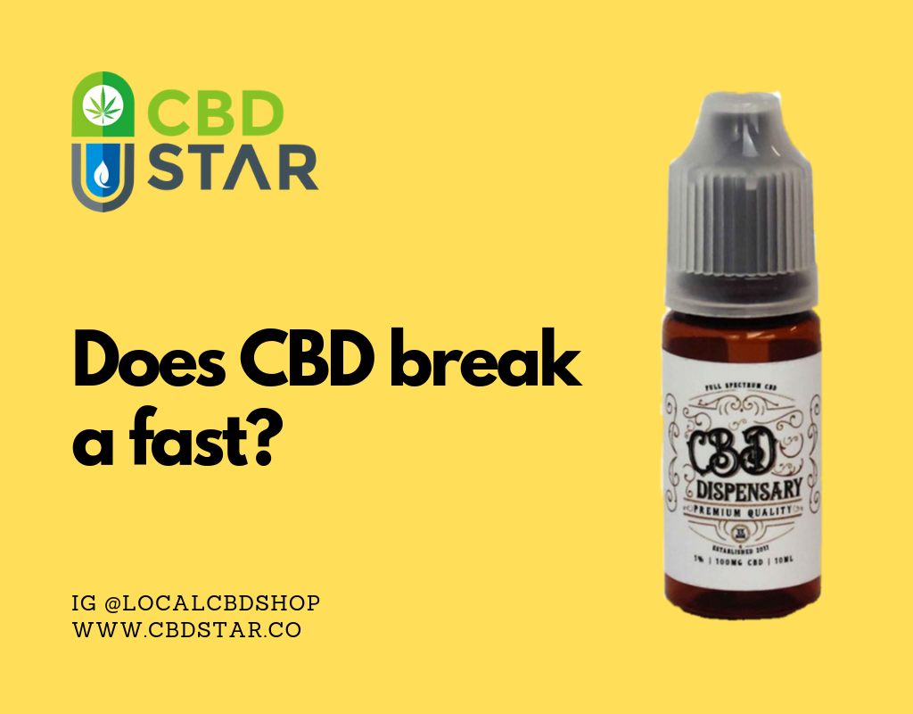 Does CBD break a fast