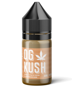 og kush cbd eliquid terpenes from the green house
