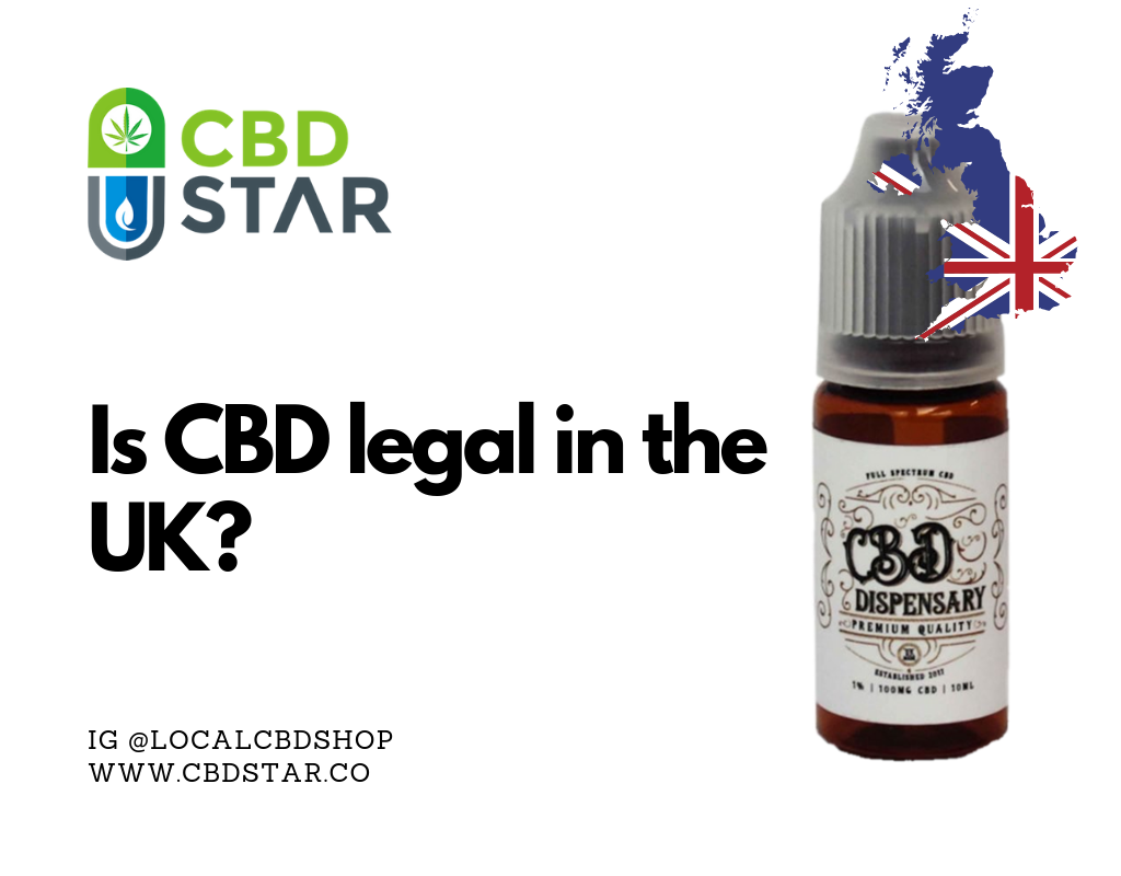 is cbd legal in the united kingdom
