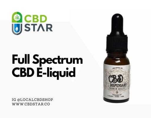 full spectrum cbd e-liquid blog post