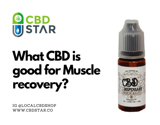 What CBD is best for muscle recovery