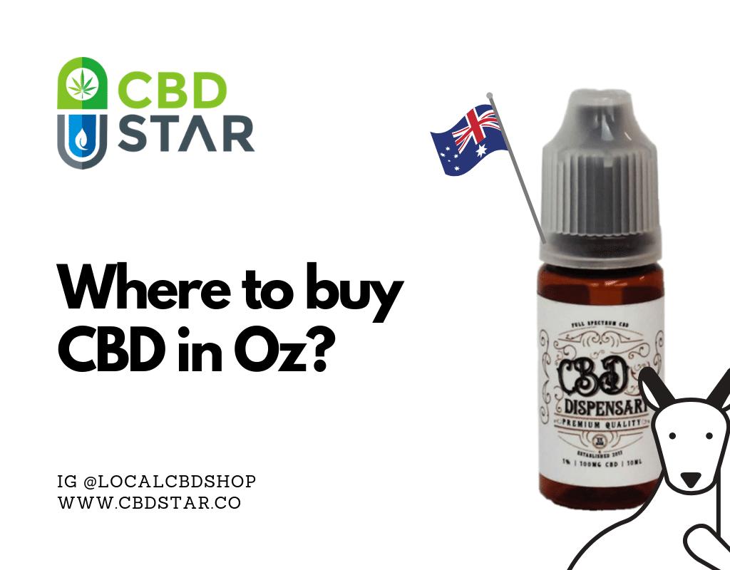 Where can I buy CBD in Oz_