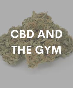 CBD and the Gym