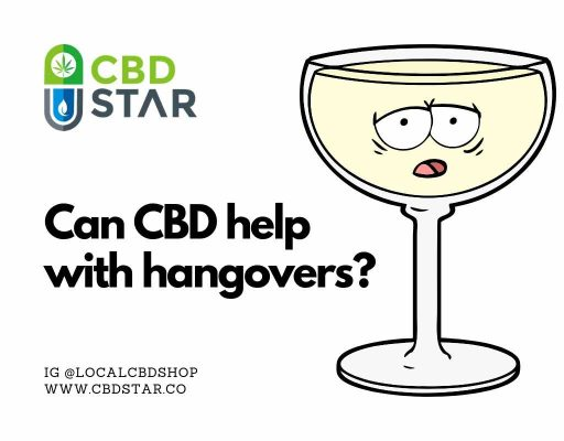 can cbd oil help with hangovers?