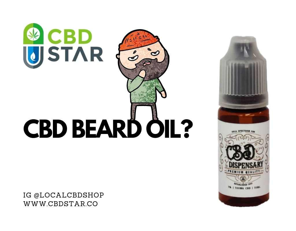 what are the benefits of cbd beard oil?