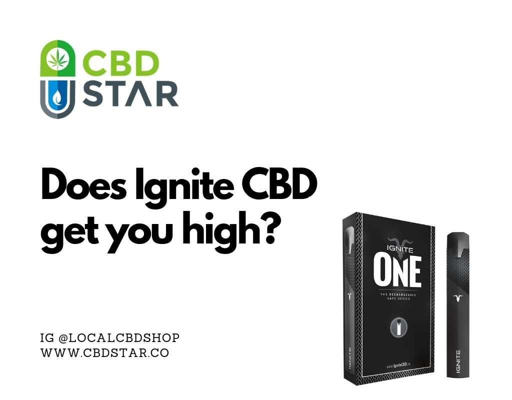 does ignite cbd get you high
