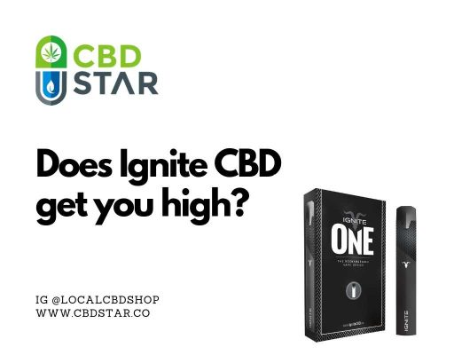 does ignite cbd get you high