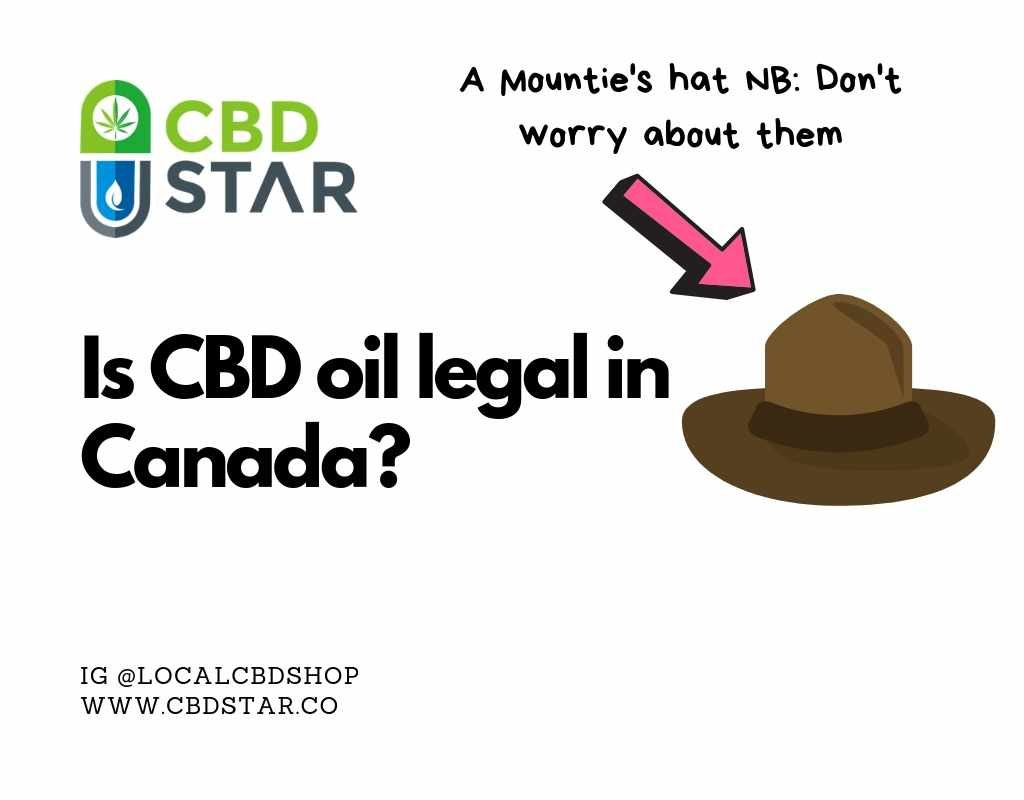 Is CBD legal in Canada and where can I buy it?