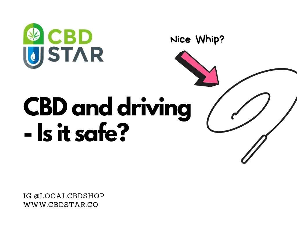 is it safe to drive and take CBD?