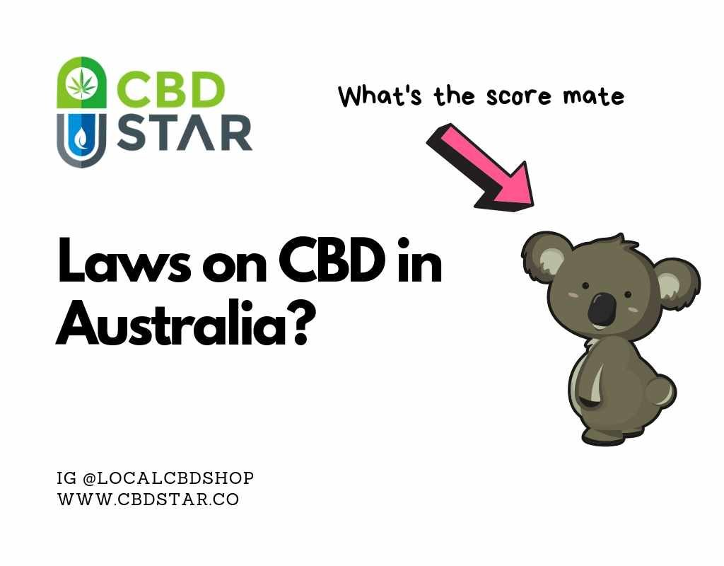 what are the rules on CBD in australia?