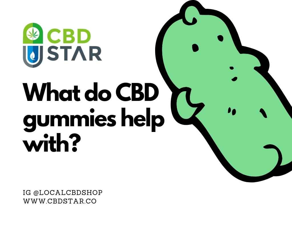 what do cbd gummies help with