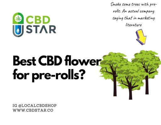 best cbd flower for pre-rolls