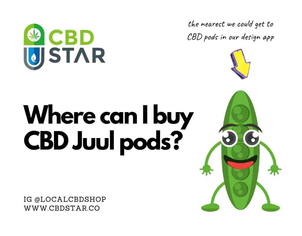 where can i buy cbd juul pods