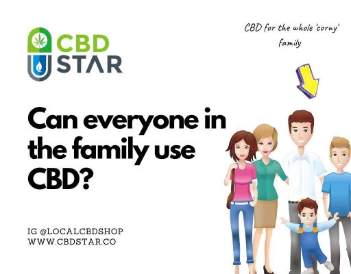 CBD guide for the family, can my kids use CBD oil?