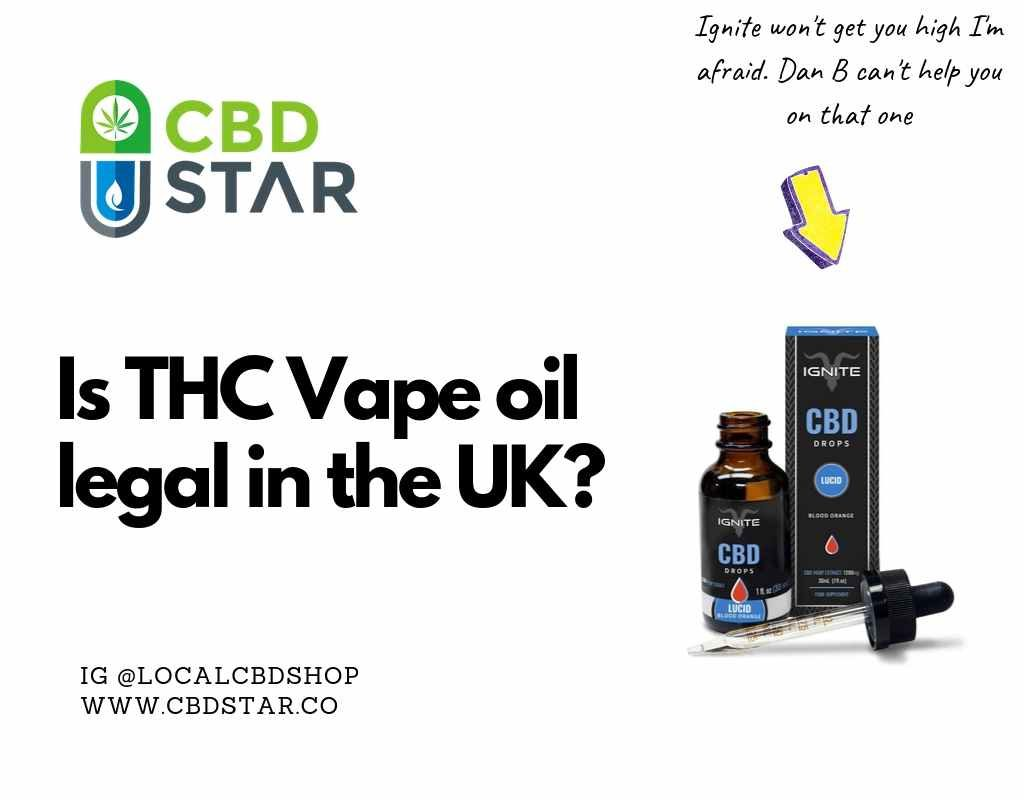 thc vape oil is it illegal?