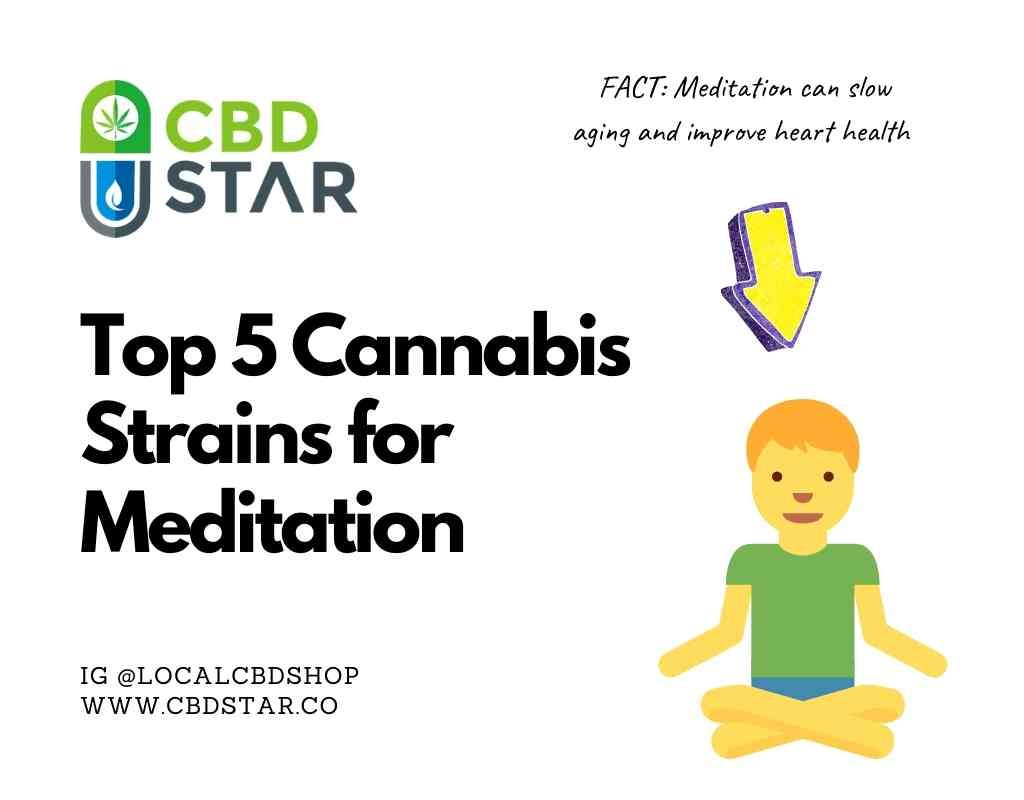 Top 5 cannabis strains for meditation
