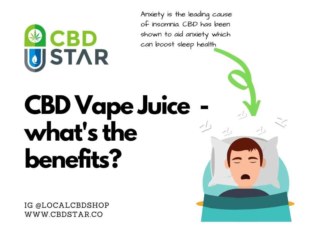 what are the benefits and side effects of cbd vape juice