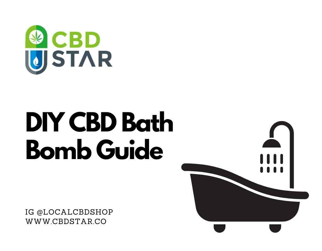 DIY CBD Bath Bomb Guide