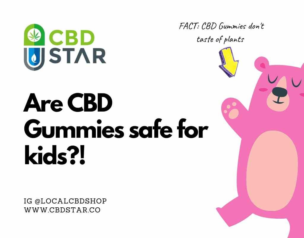 What are CBD gummies like and are they safe for kids?