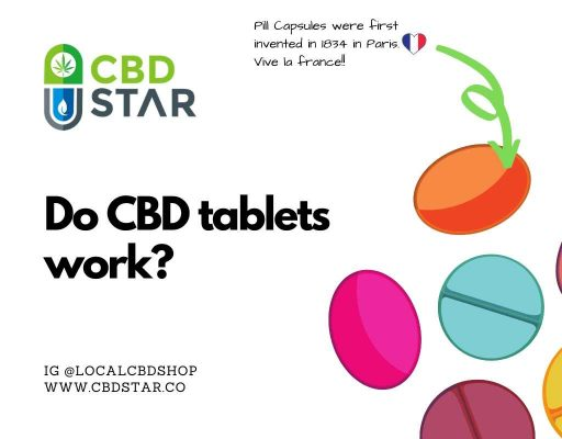 Do CBD tablets work?