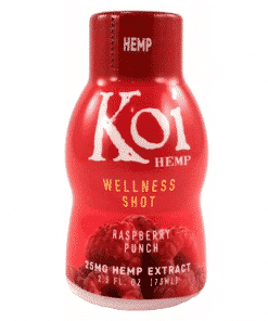 Koi Hemp Wellness Shot raspberry