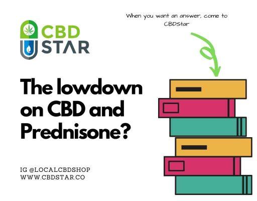 Does CBD work with Prednisone?