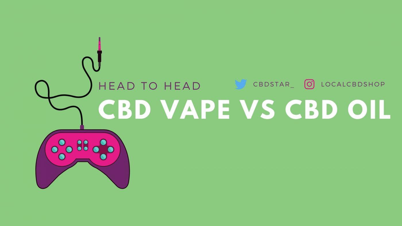 cbd vape vs cbd oil