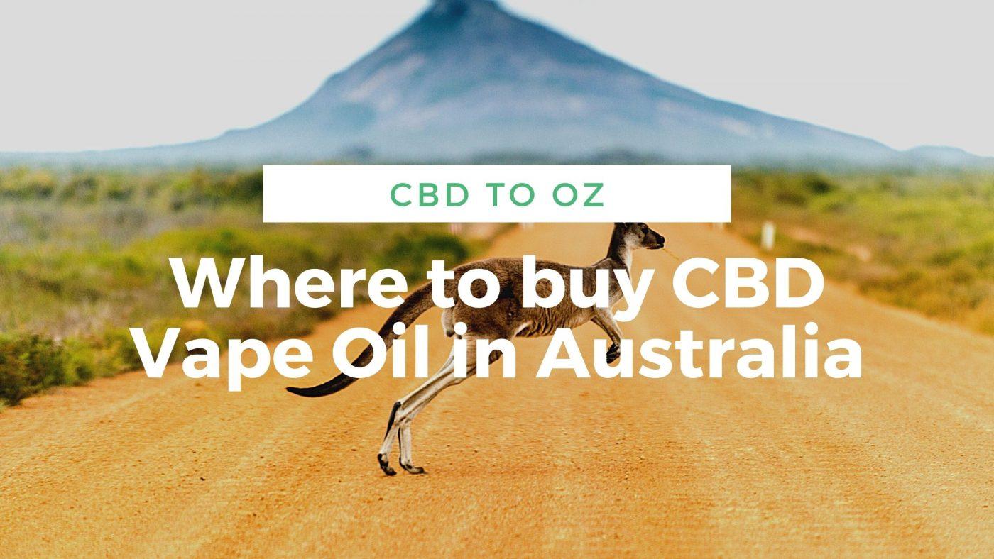 Can I buy CBD e-liquid in Australia
