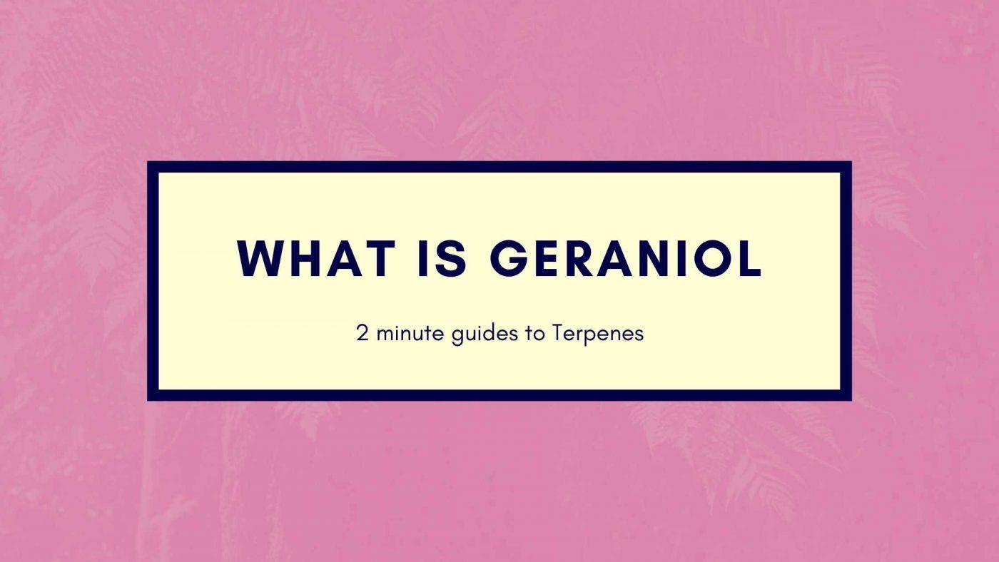 what is geraniol