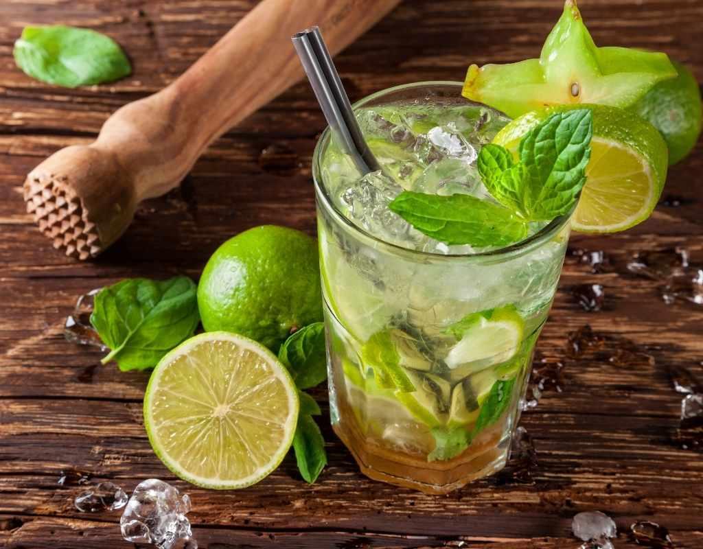 Mojito CBD cocktails