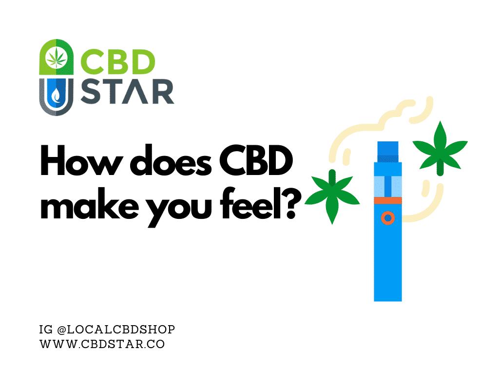 how does cbd vape make you feel?